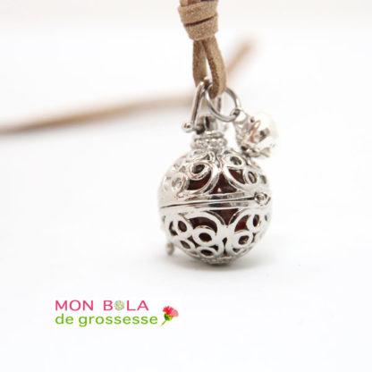 collier de grossesse cercles pour maman