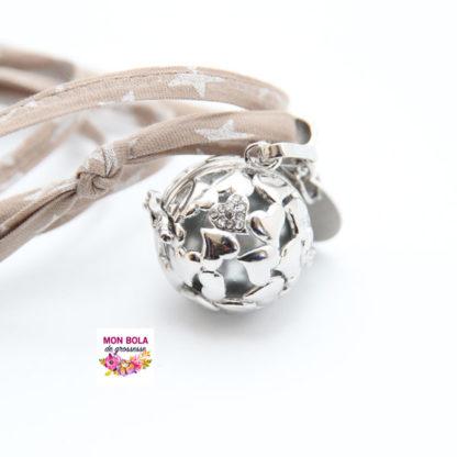 bola de grossesse design coeur