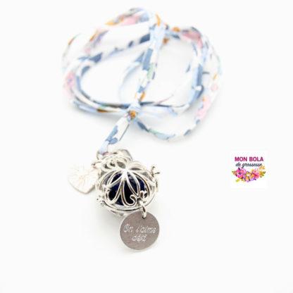 bola empreinte avec breloque et médaille