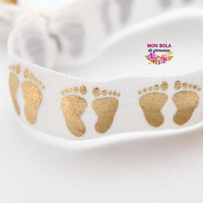 bracelet élastique gravé