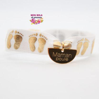 bracelet maman poule