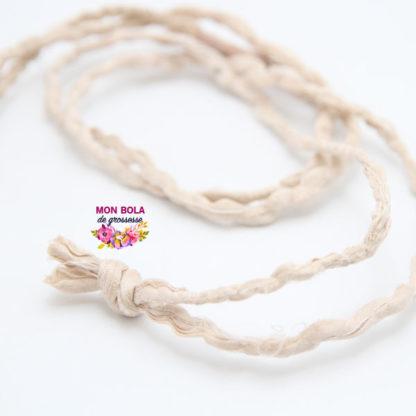 collier en sari pour bijou de grossesse