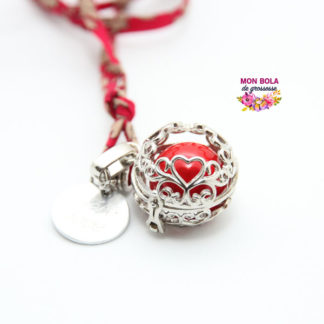bola avec pendentif coeur