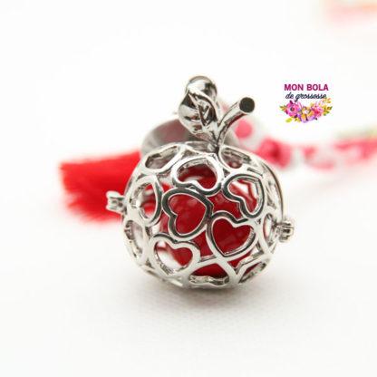 cage de bola avec coeur
