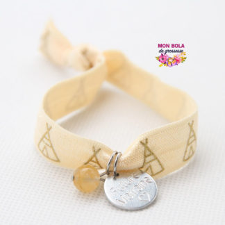bracelet gravé pour marraine