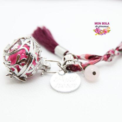 Une perle de Quartz Rose pour bola