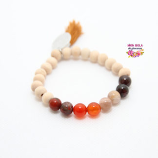 bracelet de lithotherapie pour femme