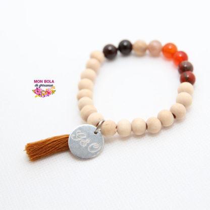 bracelet en pierre pour future maman