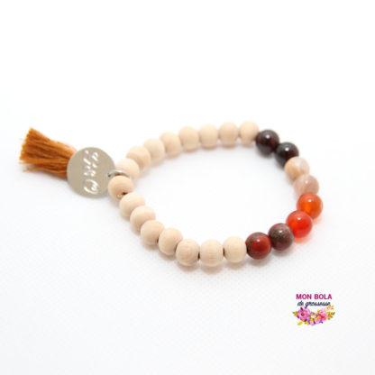 bracelet et lithothérapie pour future maman