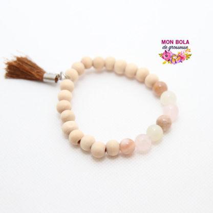 bracelet en pierres à personnaliser