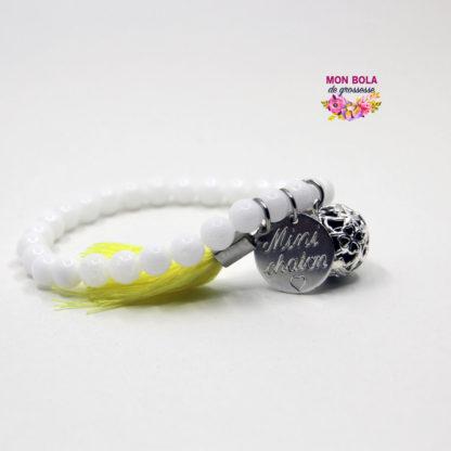 bracelet en pierres personnalisable