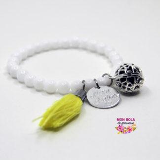 Bracelet bola en pierres naturelles