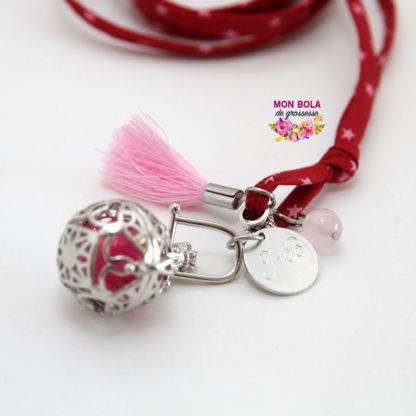 quartz rose et bola de grossesse